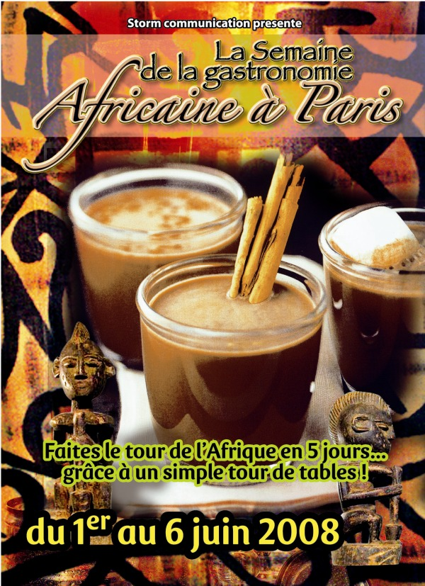 grioo pour elle la semaine de la gastronomie africaine du 1er au 6 juin 2008. Black Bedroom Furniture Sets. Home Design Ideas